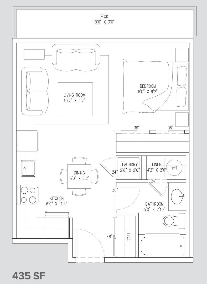 studio suite unit A3